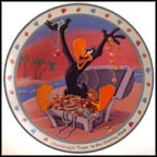 Thursday's 'Toon Is The Greedy Kind Collector Plate by Craig Nelson
