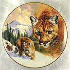 Mountain Majesty Collector Plate by Greg Beecham
