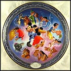 Once Upon A Kiss Collector Plate by Disney Studio Artists