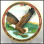 My Country 'Tis Of Thee Collector Plate by Gene Dieckhoner