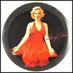 Lady In Red Collector Plate by Milton H. Greene