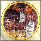 1982 NCAA Championship Collector Plate by Chuck Gillies