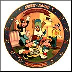 Mickey's Birthday Party 1942 Collector Plate by Disney Studio Artists