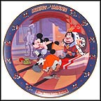 The Brave Little Tailor 1938 Collector Plate by Disney Studio Artists