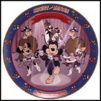 Mickey Mouse Club 1955 Collector Plate by Disney Studio Artists
