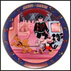 Mickey's Gala Premiere 1933 Collector Plate by Disney Studio Artists