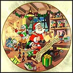 Naughty Or NIce? Collector Plate by Disney Studio Artists