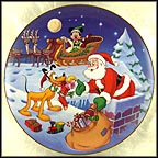 Thanks, Pluto! Collector Plate by Disney Studio Artists