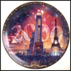 Tribute 2000 Collector Plate by David Henderson