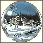 Midnight Clear Collector Plate by Persis Clayton Weirs