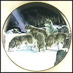 Seeking The Trail Collector Plate by Persis Clayton Weirs