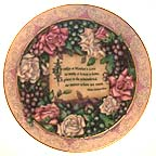 Remembrance Collector Plate by Jan Anderson MAIN
