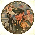 Red, White And G.I. Blues Collector Plate by Bruce Emmett