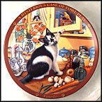 Tuxedo Collector Plate by Higgins Bond MAIN