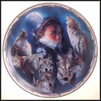 Eyes Of The Soul Collector Plate by Ernie Cselko