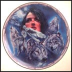 Violet Vision Collector Plate by Ernie Cselko