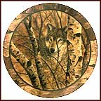 Woodland Retreat Collector Plate by David Wenzel