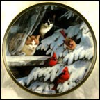Birdwatchers Collector Plate by Persis Weirs