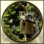 House Sitting Collector Plate by Persis Weirs