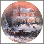 All Friends Are Welcome Collector Plate by Thomas Kinkade