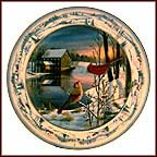 Daybreak In Pinegrove Collector Plate by Sam Timm MAIN