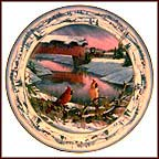 Pinegrove Morning Collector Plate by Sam Timm