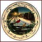 Pinegrove Sunset Collector Plate by Sam Timm