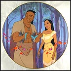 Father's Love Collector Plate by Disney Studio Artists