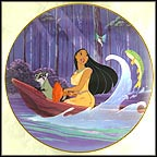 Just Around The Riverbend Collector Plate by Disney Studio Artists