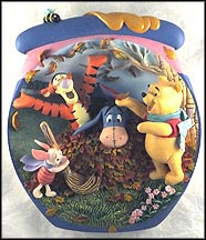 Fall Is For Friends Collector Plate by A. A. Milne & E. H. Shepard