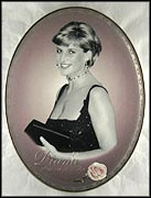 Fondly, Diana Collector Plate