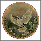 Peace Collector Plate by Larry Martin