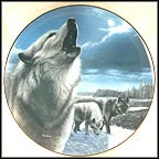 Night Sentries Collector Plate by Kevin Daniel
