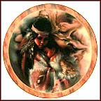 Gentle Embrace Collector Plate by Lee Bogle