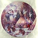Ghost Dance Collector Plate by Kirk Randle