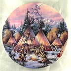The Painted Horse Collector Plate by Kirk Randle MAIN