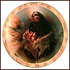 Precious Love Collector Plate by Lee Bogle