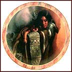 Softest Caress Collector Plate by Lee Bogle