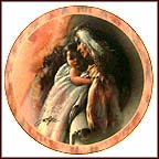 Tender Moment Collector Plate by Lee Bogle