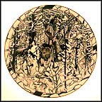 Where Paths Cross Collector Plate by Diana Casey