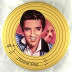 Hound Dog Collector Plate by Nate Giorgio