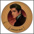 Jailhouse Rock Collector Plate by Nate Giorgio