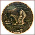 Spirit Of Bravery Collector Plate by Gene Dieckhoner