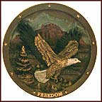 Spirit Of Freedom Collector Plate by Gene Dieckhoner MAIN