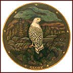 Spirit Of Glory Collector Plate by Gene Dieckhoner