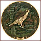 Spirit Of Honor Collector Plate by Gene Dieckhoner
