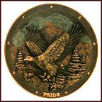 Spirit Of Pride Collector Plate by Gene Dieckhoner