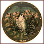 Spirit Of Valor Collector Plate by Gene Dieckhoner