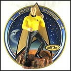 Captain James T. Kirk Collector Plate