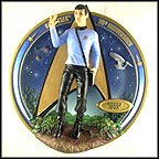 Commander Spock Collector Plate
